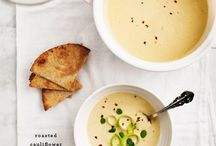 Soup / Cauliflower and leek soup