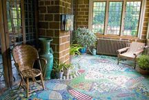 mozaiki podłogowe