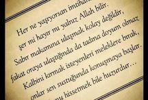 MANEVİYAT / MANEVİYAT