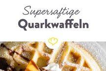 Quarkwaffeln