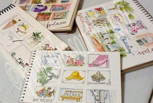 Artist Journal, Scrapbooks