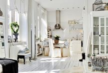 White Houses / Oh, to have a predominantly white room - that would stay clean - 'tis just a dream.