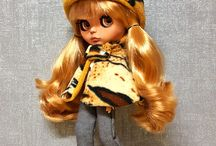 Lock 'n' Sew • BLYTHE Capes / Whimsical Capes for Blythe Dolls handmade by me