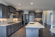 Kitchen Designs by Pahlisch Homes / All kitchens are designed by Pahlisch Homes. These kitchens have all necessities to cook, entertain, and look appealing.