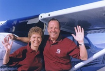 John and Martha King  / Images and videos of John and Martha King; legendary flight instructors and co-chairmen and co-owners of King Schools.