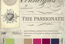 brand archetype colours ideas
