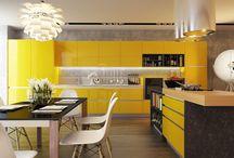 Idées décoration Jaune / Découvrez des idées pour décorer votre intérieur avec la couleur jaune.