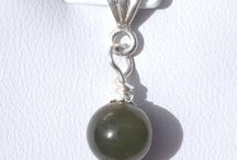 Jade Pendants: Nephrite and Jadeite Pendants & 925 sterling silver / Jade Jewellery / Jade Jewelry: Natural Jade Pendants: Jadeite and Nephrite Pendants & 925 Sterling Silver