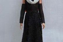 barbie abiti beads