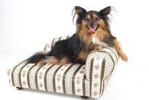 Luxusní pelíšky pro psy / Luxusní psí pelíšky. Kvalitní čalouněný nábytek pro vaše čtyřnohé miláčky.