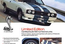 Ford Falcon GT etc