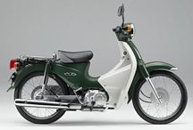 Motorcycle classic modern