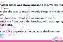 Sister love....