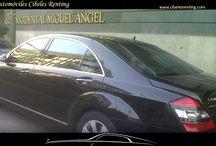 Flota Automóviles Cibeles Renting / Os mostramos algunos de nuestros vehículos de nuestra flota para #eventos y #bodas en #Madrid