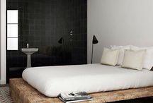 drewno łóżka