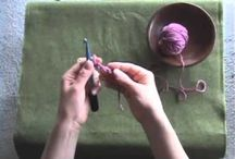 knitting, crochet and crafts