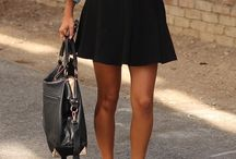 Circle skirt oufits