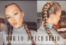 Video on how to braid hair