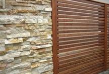 Gates & Timber Slatted Fence & Pergola Ideas
