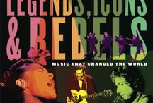 Legends, Icons & Rebels / Music industry veterans Robbie Robertson, Jim Guerinot, Jared Levine, and Sebastian Robertson invite young readers to share with them in celebrating twenty-seven musical legends. Short profiles chronicle personal stories and achievements of extraordinarily talented artists whose innovations changed the landscape of music for generations to come.  / by Random House of Canada