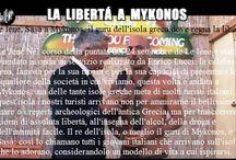 Le Iene,Sasà a Mykonos,il guru dell'isola greca dove regna la libertà.MadeinBologna email-agenzia.rudypizzuti@libero.it