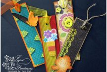 My Creations - bookmarks/ magnets