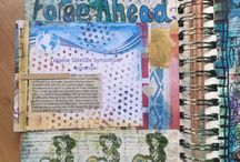 My Crafty Work / Art Journals, paint, stamping, Inks, scrapbooking, paper and other crafty pursuits.