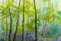 Our member's artwork / The work of members of the Flintshire Visual Arts and Crafts Network