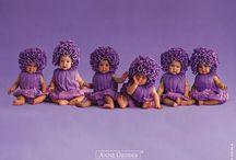 *something purple*