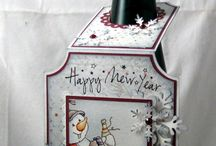 Wine bottle cards