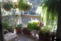 Balkong garden