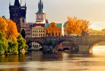 The Changing Season in Prague