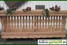 Balkongeländer Holz / Balkongeländer Holz