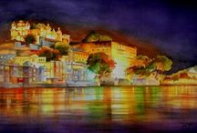 Paintings / Finest Collection of oil painting, watercolour painting, canvas painting, beautiful Indian paintings are now online at http://www.indianartideas.in/paintings by renowned Indian Artists.