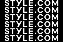 STYLE / WHAT IS STYLE.COM? / by Style.com