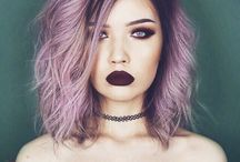 Pretty Dyed Hair
