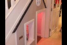 Under stairs sensory room ideas