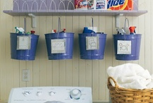 Laundry Room Ideas / by Kerri McVey
