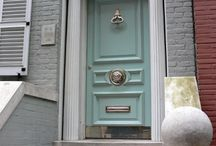 ajtószín