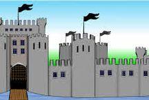 Castle / Διάφορα crafts για κάστρα