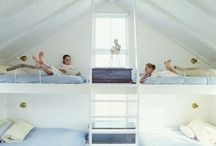 bunk beds . stock etagenbetten
