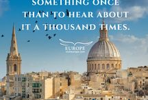 Travel Quotes / Inspiring travel quotes, encouraging us to discover more of the continent!  #visiteurope #travelquotes