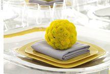 Fun table setting decorations / by Rhonda Amend