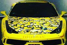 Others El #ferrari de los #minions