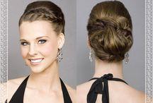 Combi- Braid and Bun Wedding Hairstyle