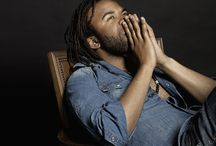 Portrait of Cedric le Noir / Barcelona based musician, singer and all around artist