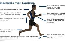 Hardlopen / Run techniques that will improve your form and mental notes that will improve your state of mind.