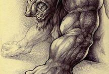 Hombre lobo - Caperucita