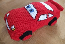 The cars crochet, knits and others