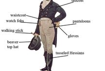 EARLY 1800's MEN'S FASHION